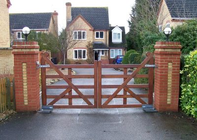 gates installation