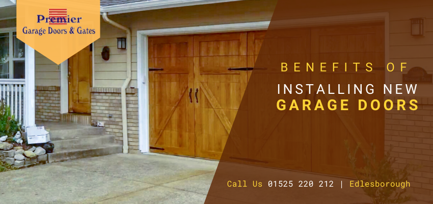 Install New Garage Doors in Buckinghamshire And Reap Numerous Benefits