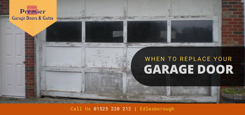 Replace Your Garage Doors before It's Too Late