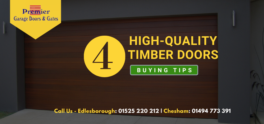 Buying High-Quality Timber Doors In Buckinghamshire Is Now Easier