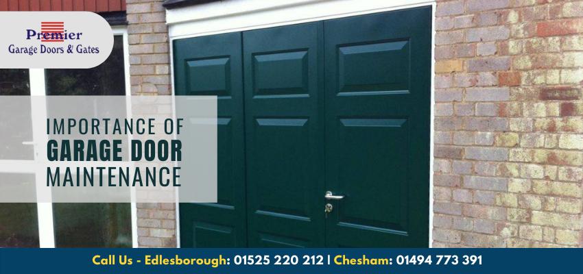 Why Is Garage Door Maintenance Important?